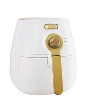 Mechanical air fryer 0-200 degree adjustable temperature /use hot air circulation