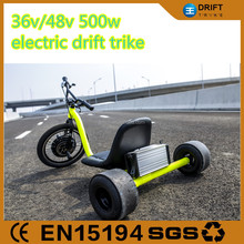 trike bike drift tricycle with 48v 15ah lithium battery