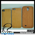 caja de madera para natural genuino samsung galaxy s4