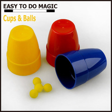 Promotional gift magic toys Cups & Balls