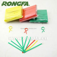 high quality bag use colored plastic tie clip