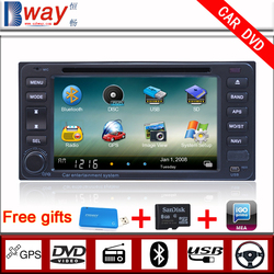 Factory price 2 din Car video player for Toyota Universal corolla EX Vios Hilux Fortuner CAR DVD with Bluetooth Radio