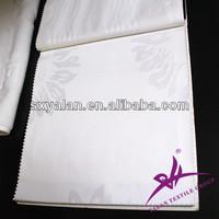 100% cotton hotel fabric plain/satin/stripe