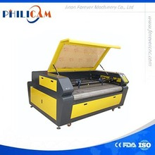 auto feed two head co2 reci laser tube laser cut machine for nonmetal