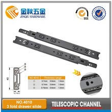 kitchen cabinet metal telescopic drawer slide rail