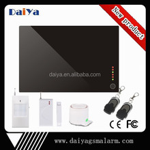 2015 hot new product wireless alarm 3g with multi language DY-D1