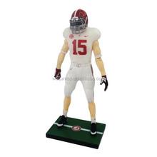 2015 new design Custom pvc figure miniature,football player action figure