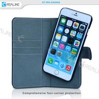 mobile phone for iphone6 case flip wallet, for iphone 6 detachable wallet case