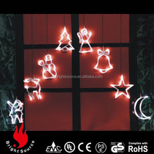 Modern indoor christmas led window candle lights