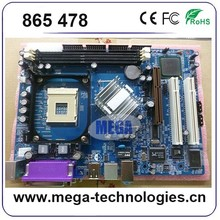 New arrival tested in good condition ddr2 desktop 865 Motherboard