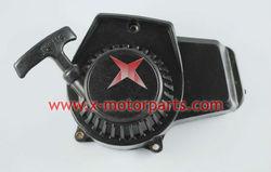 Plastic Pull Starter for 2-stroke 49cc Pocket bike. go kart parts
