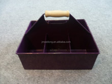 Eco-friendly Metal Cup/Coffee/Drink Holder/Carrier/Organizer Box/Rectangle Metal holder/Sundries Metal Collector Case