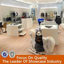 modern design clothing retail store furniture for kids'clothing display