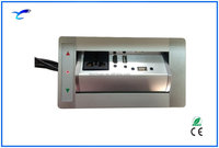 Aluminum Panel USB Electric Switch Socket