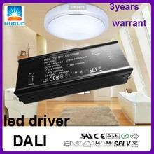 2100mA metal case conatant voltage One channel 48v output DALI led driver 100w