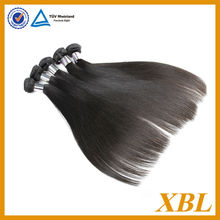 XBL hair full cuticle hair selling in south american hair
