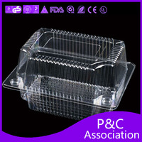 plastic food box cake box food packaging box