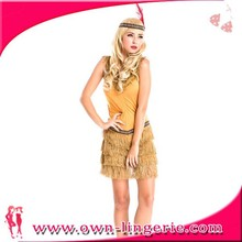 Maquillaje barato trajes de danza india para la mujer fiesta de halloween