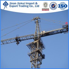 50m jib length specification telescope kit tower crane supply