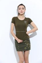OEM Manufacturer new fashion girls dance skirts