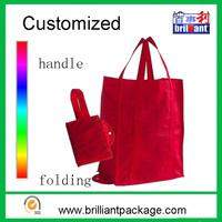 Grocery cheap reusable custom folding shopping tote bag