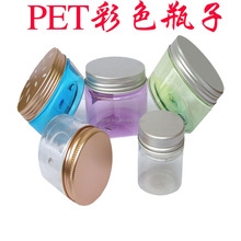 750ml round shape plastic honey jar transparent honey plastic bottle with aluminum lid
