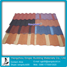 All kinds of stone coated metal roof tile with high quality and cheaper price