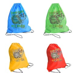 custom made nonwoven shopping bag,nylon polyester drawstring bag