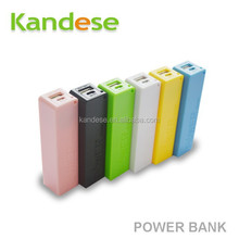 Perfume General Power Bank 2800mah Backup External Battery Portable Charger Mobile Phone without the battery