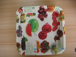fresh food such as fruit , fish,vegetages paper tray