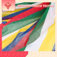 2015 High qualiy thin muslin baby fabric with printing cotton printing