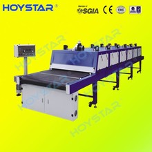 screen printing t shirt infrared belt dryer machine with tunnel