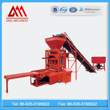 QT4-26 China top quality used concrete cement block brick making machine manufacture factory in Africa for sale