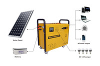 China portable 10kw solar system package