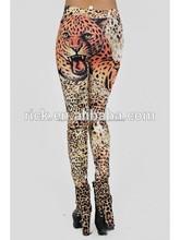 Mujeres sin costuras leggings leggings de impresión tigre