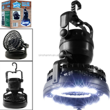 2015 Newest multifunctional led camping light with fan
