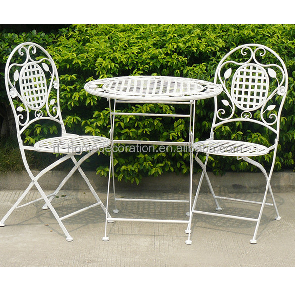 Folding outdoor cast iron patio furniture buy cast iron Cast iron garden furniture