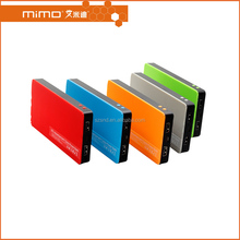 New best power bank 10000/8000mah best choice for Christmas gift