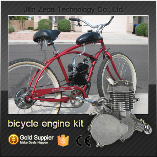 2 stroke bike engine kit with angle fire slant head small for Little motors for bicycles