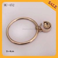 MC452 Wholesale hot sale metal chain tag for clothing/custom hang tag for bag