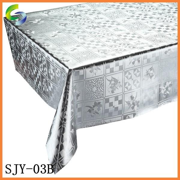 Elegant design heat resistant printed plastic tablecloth buy plastic tablecloth printed - Heat resistant table cloth ...