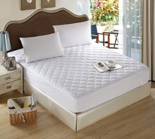 Venta al por mayor fábrica de poliéster hotel funda de colchón / extensión de la cama / sábana ajustable de China
