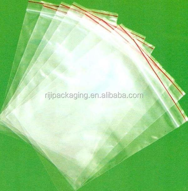Zip bloqueio plastic bag