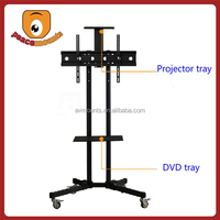 """For TVs up to 32""""-70"""" screen mobile free standing tv floor stand"""