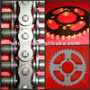 chain and sprocket kits for honda unicorn