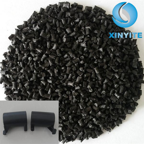 Raw plastique PBT GF20 condensateur couverture ignifuge fr PBT V0 résine PBT noir