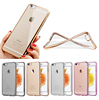 For iphone 6s plus case, Electroplate clear tpu case for iphone 6s plus