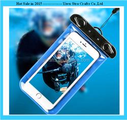Hot sale plastic mobile/cell phone waterproof bag