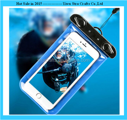 Hot sale plastic mobile/cell phone waterproof bag