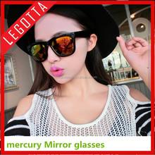 Professional PC fashionable wholesale custom printed mercury mirror dancing party glasses